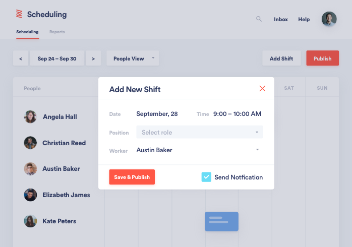 Employee Time Tracking & Scheduling | HR Software | Zenefits